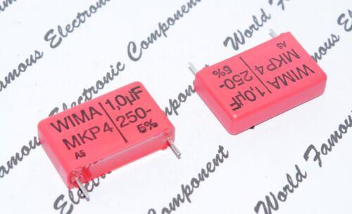 5pcs 250V 5/% pitch:22.5mm Capacitor MKP4F041005D00JSSD WIMA MKP4 1uF 1µF