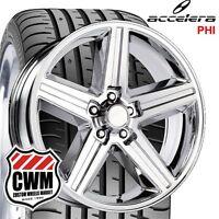 20x8 Iroc Z Chrome Wheels Rims 245/30zr20 Tires For Chevy Monte Carlo 82-88