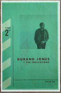 DURAND-JONES-amp-THE-INDICATIONS-2018-POSTER-Gig-Portland-Oregon-Concert