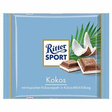 ORIGINAL German Ritter Sport Kokos/COCONUT -100g -