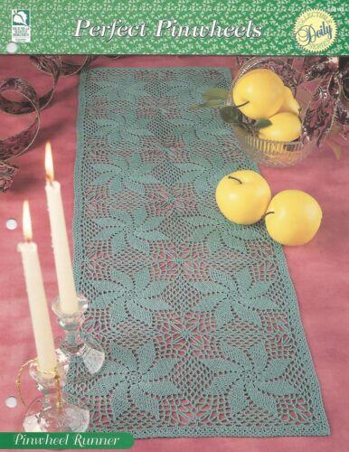 Pinwheel Runner Doily Crochet Pattern Perfect Pinwheels HOWB Collectible Series