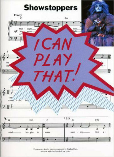 I CAN PLAY THAT! SHOWSTOPPERS PF, New, Various Book