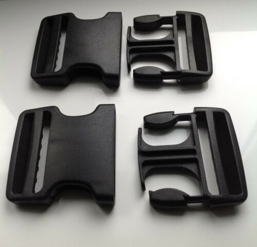 50mm Plastic Dual Adjust Side Release field replacement Buckle