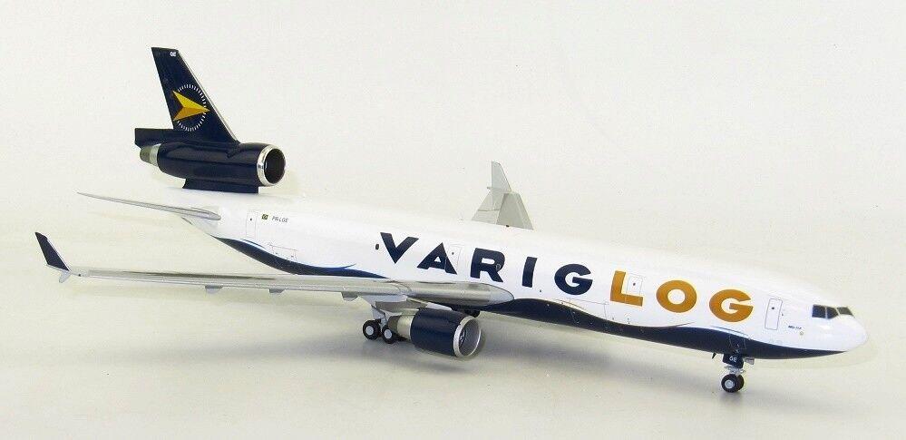 Jc Flügel LH2124 1/200 Varig Log Mcdonnell Douglas Md-11f Pr-Lge mit Ständer