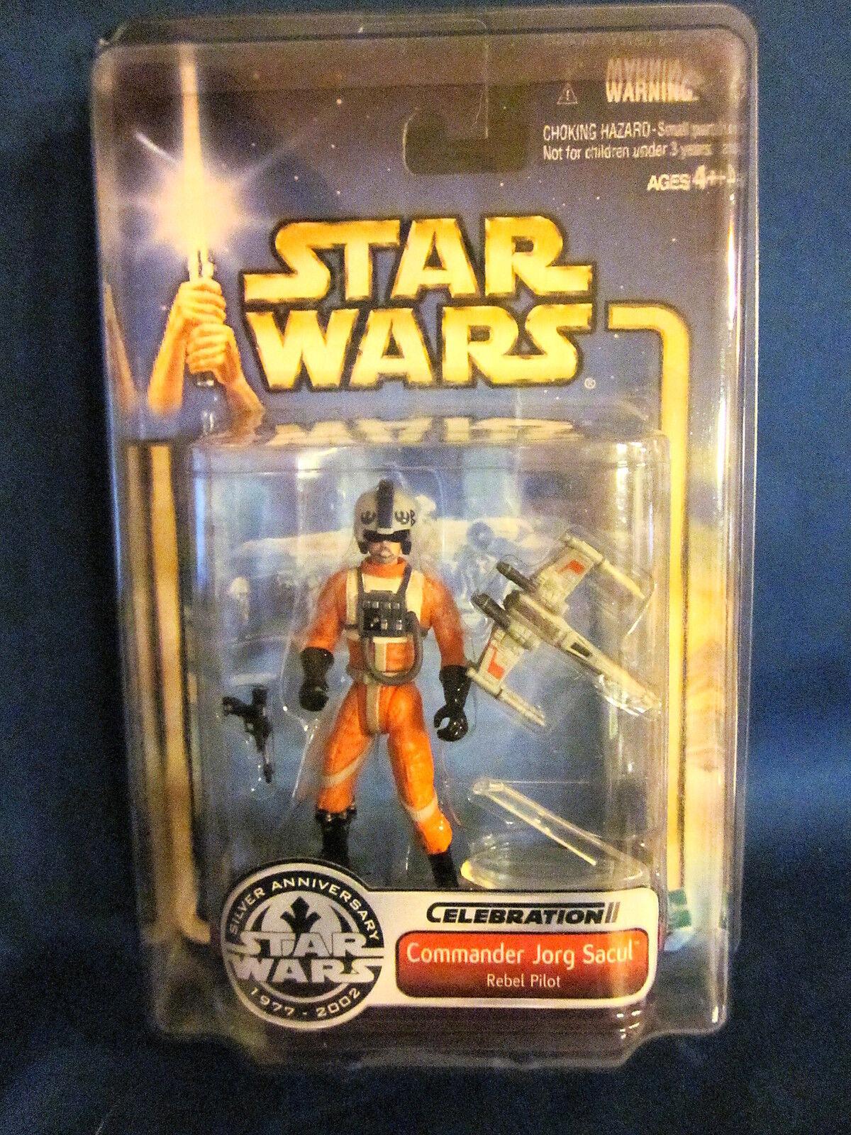 Star Wars Celebration II Commander Jorg Sacul Rebel Pilot Action Figure