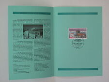 (00j30) Bund Erinnerungsblatt 2000 mit ESST Mi.Nr. 2127 Wetterstation Zugspitze