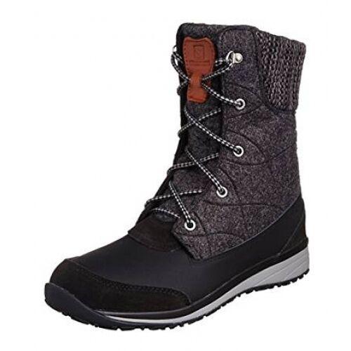stile classico Salomon Hime Mid nero asfalto Pewter Stivali Stivali Stivali Invernali Taglia 5,5 EU TG 38 2 3  outlet in vendita
