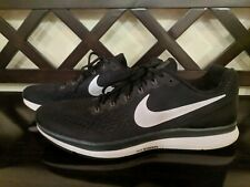Nike Zoom Flyease Pegasus 34 Running GS Black Adaptive 918020-002 Youth 4.5y-/>7y