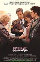 Immediate Family Movie Poster Glenn Close James Woods Mary Stuart Masterson