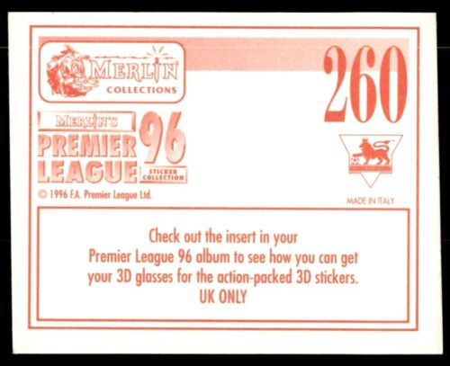 Southampton no Merlin Premier League 96-Dave Beasant 260 protagonista 1//2