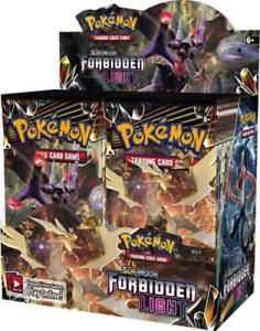 Pokemon TCG Sun & Moon Forbidden Light x4 Booster Packs Lot 1/9 Booster Box