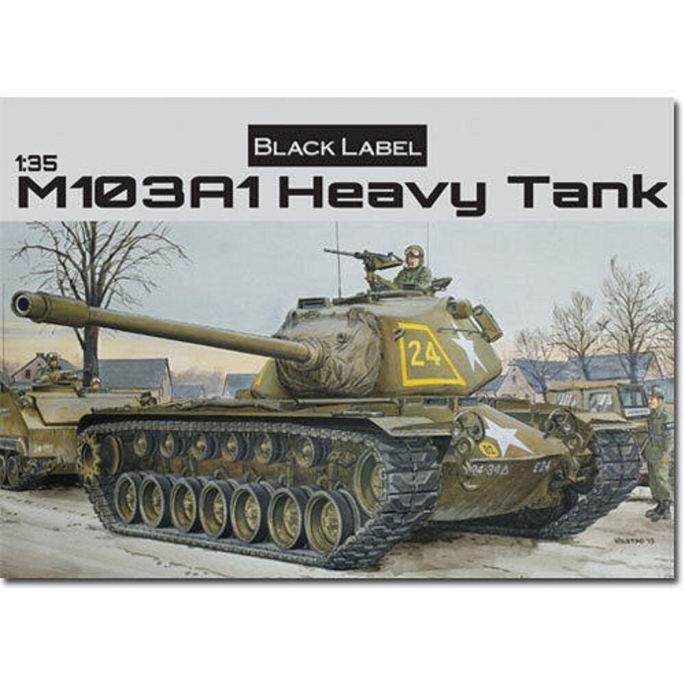DRAGON U.S. M103A1 HEAVY TANK  Scala 1 35 Cod.3548