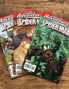 LOT-3-SPIDER-MAN-ADVENTURES-ISSUES-32-34-44-2008-MARVEL-Comics