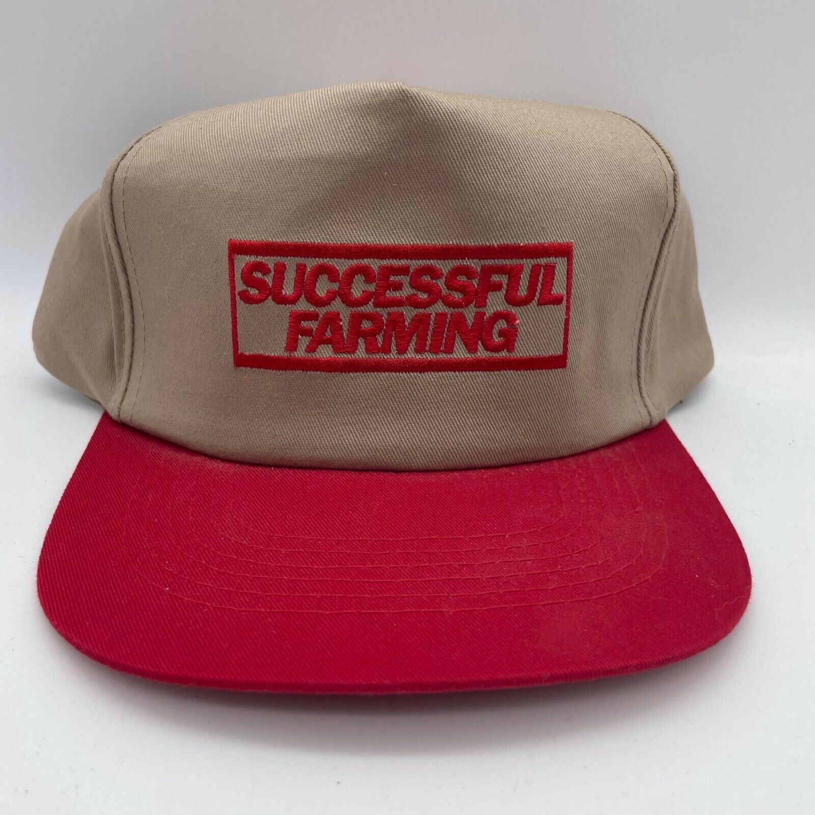 Red Successful Farming SnapBack Hat - image 1