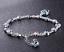 SILBER-Armband-Armkette-Zirkon-Geschenk-Schmuck-Silberkette-fuer-Damen-Frauen Indexbild 6