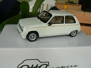 Renault 5 R5 Laureate Turbo 1/18 Otto Ottomobile Ottomodels en boîte Ot513