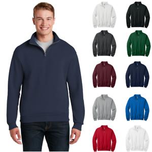 Sweatshirt 4 995m Jerzees Resist Pill 50 zip Nublend Blend Collar 1 Cadet 50 RExqxFOwnY