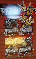Lot Of Transformers Revenge Of The Fallen Point Of Sale Posters And Signs