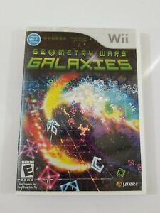 Geometry Wars Galaxies Nintendo Wii 2007 Complete