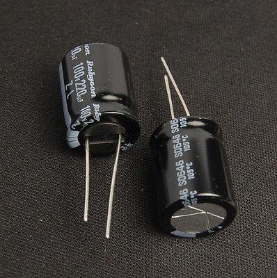 4pcs 100uf 100v Electrolytic Capacitors 100v100uf Japan Rubycon ZL Low impedance