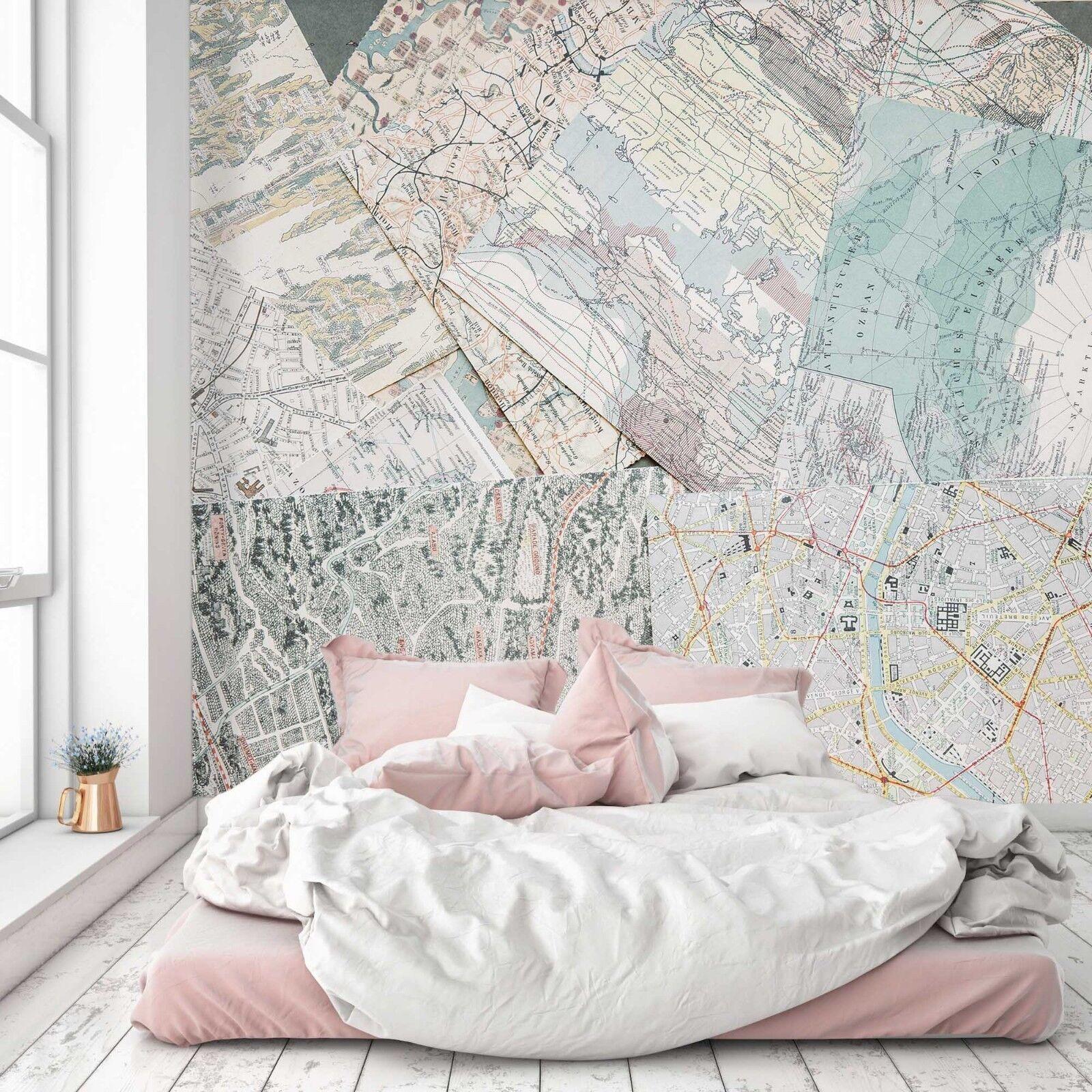 3D Blau Karten 958 Tapete Wandgemälde Tapete Tapeten Bild Familie DE Sidney  | New Product 2019  | Ausgezeichnete Leistung  | Attraktive Mode