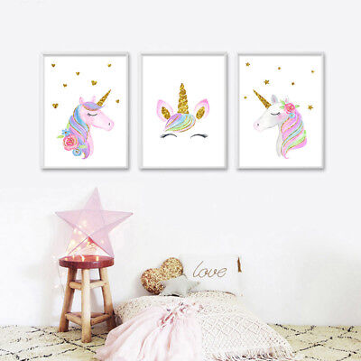 Home Décor Girls Money Box Pink Bedroom Accessories Unicorn ...