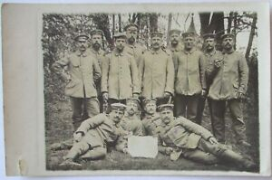 German-Soldiers-1915-IN-Dehme-Photo-Card-With-Text-21321