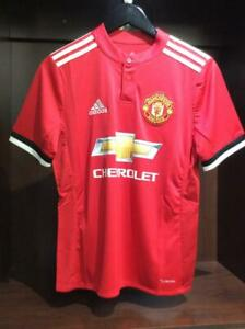 Manchester United Home Soccer Jersey 2017/18 - Red AZ7584 ...