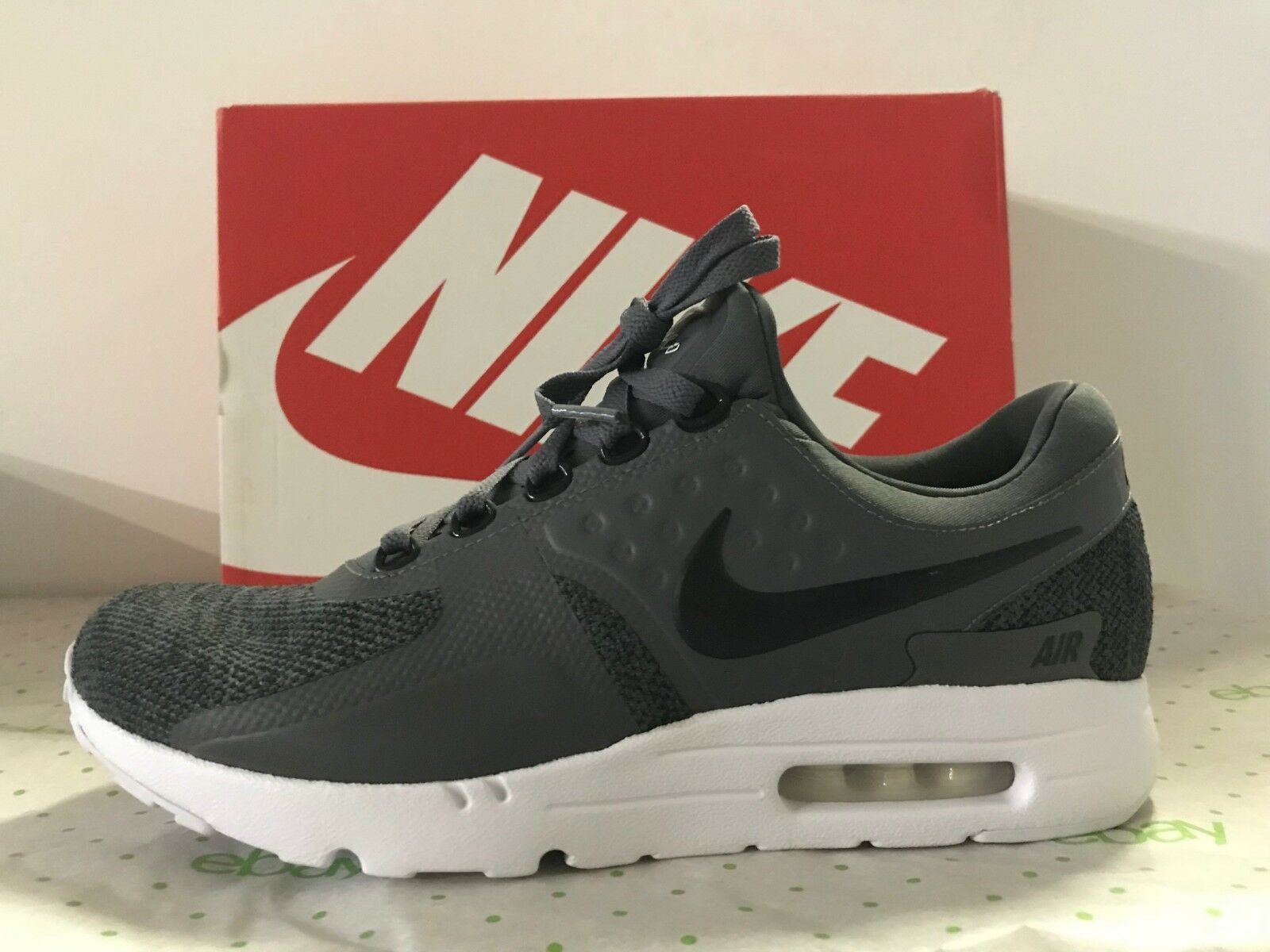 Nike Air Max Zero SE Sneakers Casual Trainers shoes Black Grey White