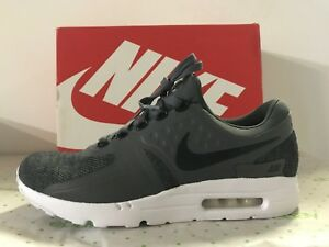 b4a7910df44 Nike Air Max Zero SE Sneakers Casual Trainers Shoes Black Grey White ...