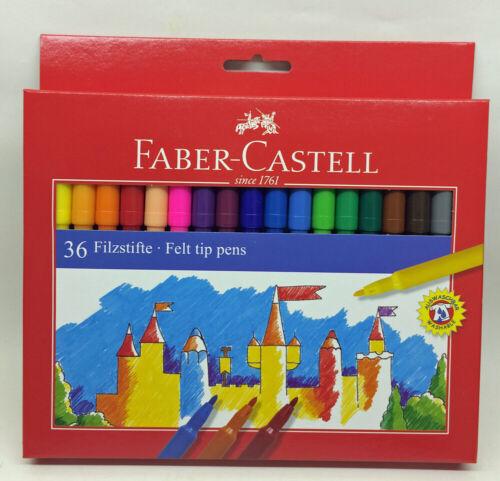 554236 Faber Castell Filzstifte Stifte 36 Stück Fasermaler