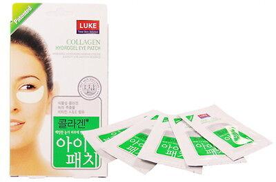 LUKE COLLAGEN HYDROGEL Eye Patch 30 Pairs(60sheets) Dark Circle Pads Facial Mask