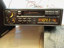 """Old School"" Vintage 80's Pioneer KE-2600QR Pull Out Style Cassette Receiver"