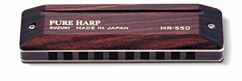 Suzuki 10 Hole Harmonica Pure Harp Mr-550 C Style