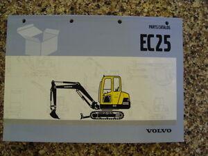 volvo ec15 parts manual catalog book mini excavator hydraulic rh ebay com volvo ec 15 b manual volvo ec 15 b manual
