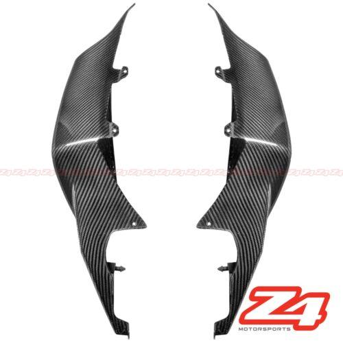 2007 2008 Suzuki GSX-R 1000 Rear Tail Side Trim Cover Cowl Fairing Carbon Fiber