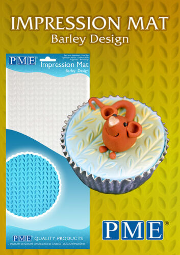 Barley PME Icing Fondant Impression Imprint Mat Sugarcraft Cake Decorating