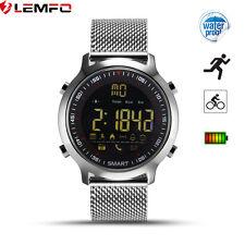 Lemfo EX18 IP67 50m Impermeable Bluetooth Reloj Inteligentes Para Android iOS
