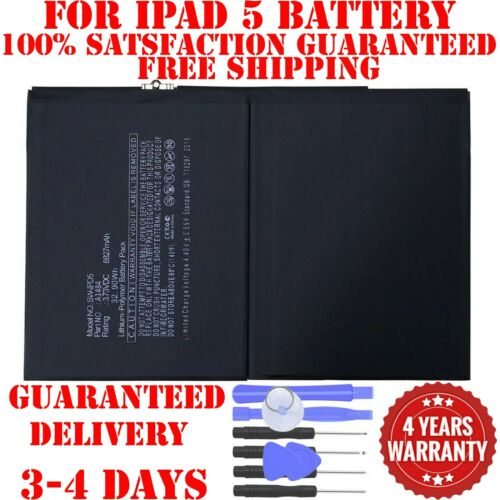 Replacement-Battery-For-iPad-5th-Air-1-A1474-A1475-A1485-8827mAh Free Tools