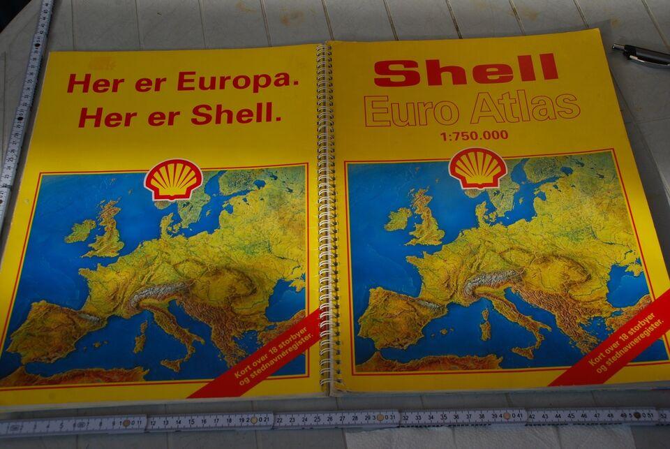 Shell Euro Atlas Shell 1 750 000 Dba Dk Kob Og Salg Af Nyt