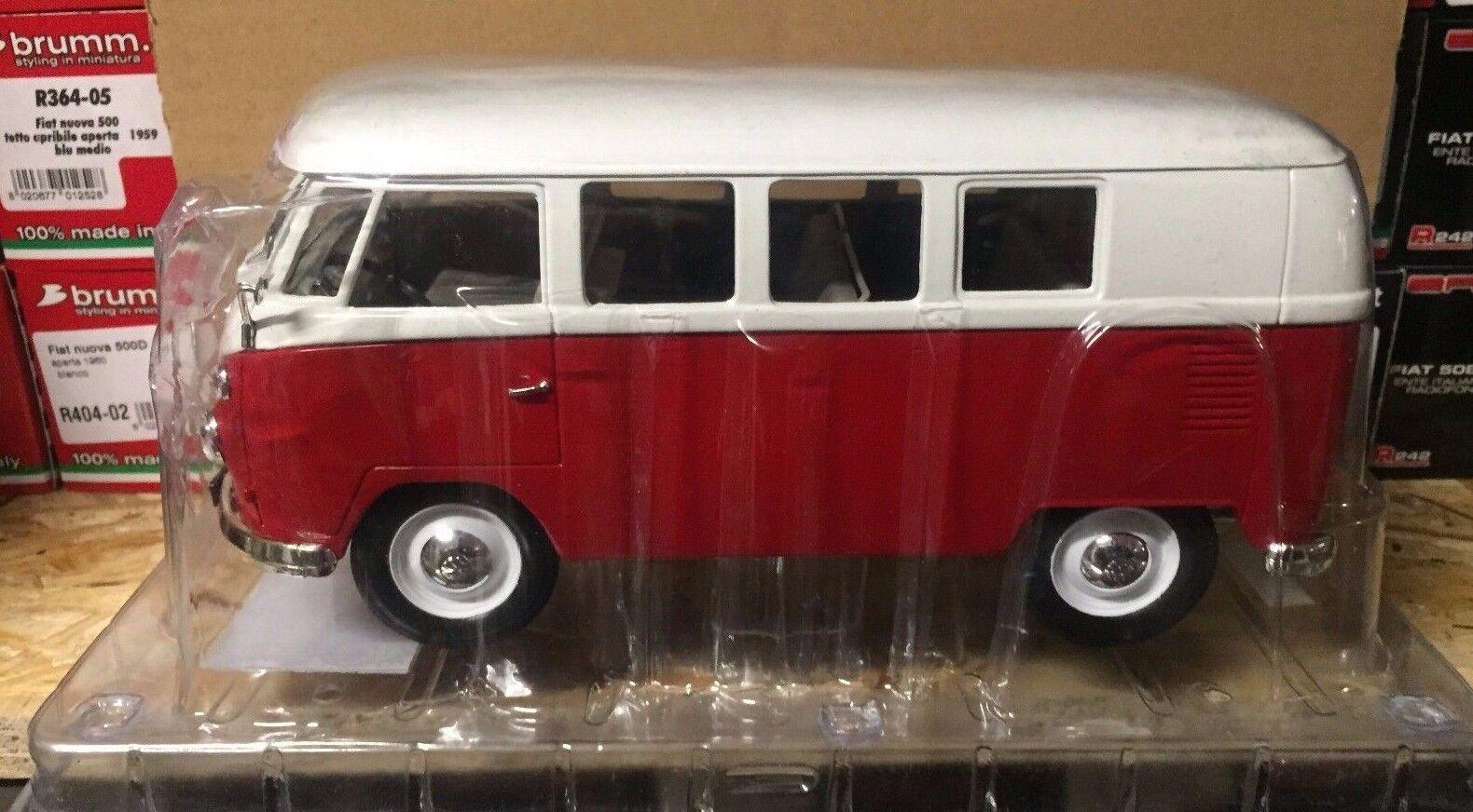 Druckguss  volkswagen combi - 1966  1   19 hachette le mitiche auto da collezione