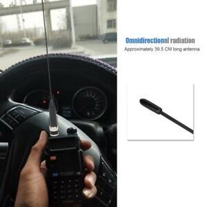 VHF//UHF walkie talkie handheld radio antenna BNC male connector for ICOM UNIDEN