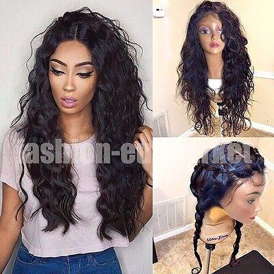 Virgin Malaysian Human Hair Lace Front Wig Body Wave Full Lace Human Hair AAAAAA