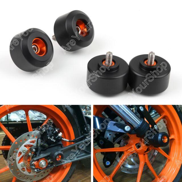 Front & Rear Fork Wheel Frame Slider Crash Protector For KTM 125 200 390 Duke K