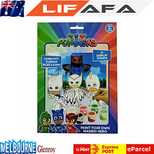 New-PJ-Masks-Toys-Paint-Your-Own-Masked-Hero-Kids-Gift-Item-For-Children-LF