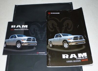2010 10 Dodge Ram Truck 1500 2500 3500 Factory Owners Manual ...