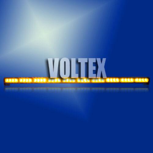 "44/"" VOLTEX LED AMBER LIGHTBAR LIGHT BAR TRAFFIC ADVISOR W// DISPLAY CONTROLLER"