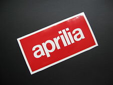 APRILIA vinyl logo decal stickers x2