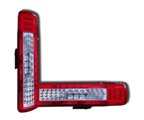 NUMBER PLATE 2 LED REAR LIGHTS TAIL LAMPS VOLVO FH FM 2012/> EURO 6 REV ALARM