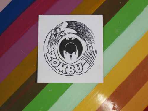 vtg 1980s Pushead// Zorlac skateboard sticker Double Cut Johnson Stanton Myhre+